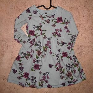 Tea Collection Everyday Dress Birds Flowers size 7